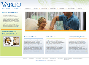 Vargo Physical Therapy Home Page